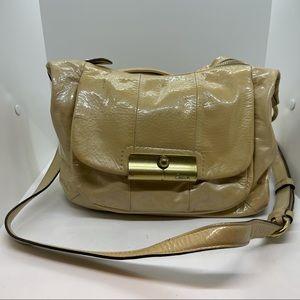 Coach Kristin Gray Tan Crossbody Handbag